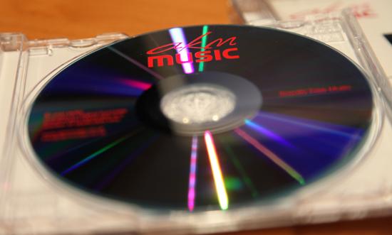 AKM Music on disk