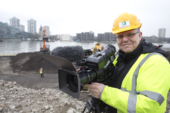 Working as a Freelance Cameraman