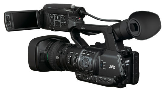 GY-HM600 series camera workshop