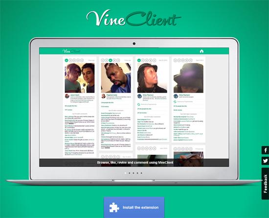 Vine Client