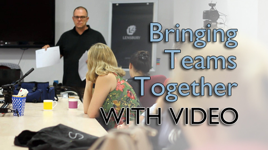 Team building with video