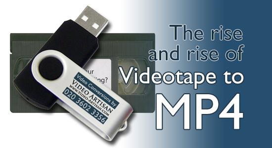 Videotape to MP4