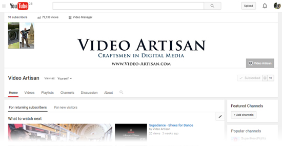Profiting from Premium Video Content - YouTube Channel