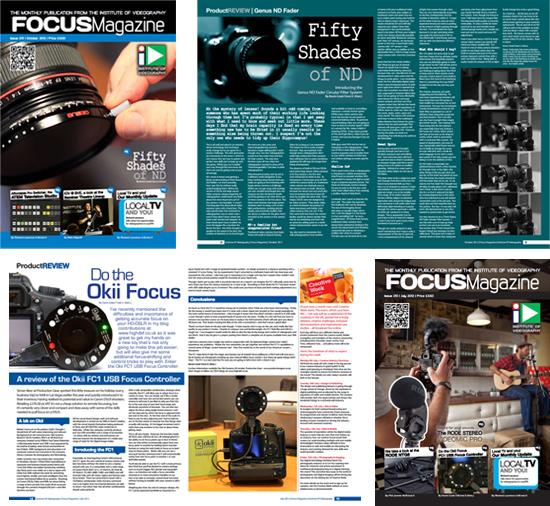Freelance writing for Focus magazine