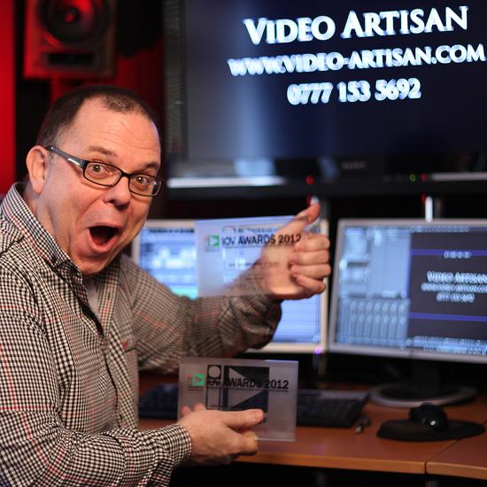 IOV Award Winning Film - Kev in the studio