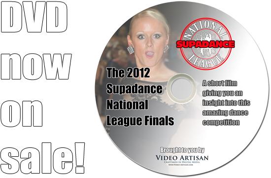 Supadance National League DVD on sale