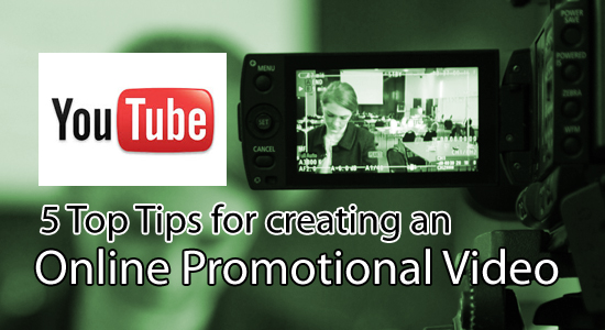 Online promotional video