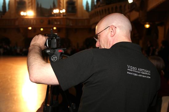 Shooting the same-sex event documentary