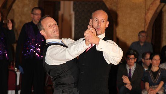 Men's same-sex dance