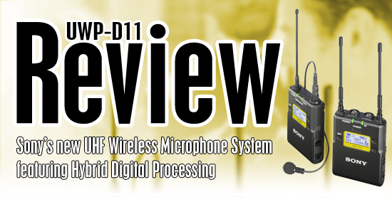 UWP-D11 Review Title