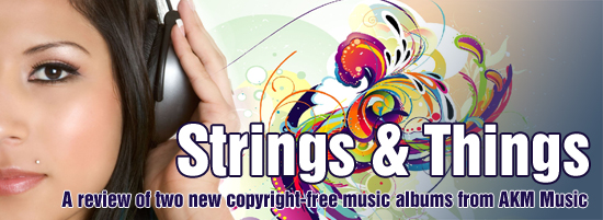 Copyright-free music review title
