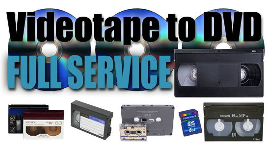 Videotape to DVD conversions Title
