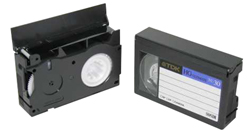 Videotape to DVD - VHS-C