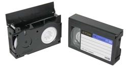 Videotape to DVD - VHS-C