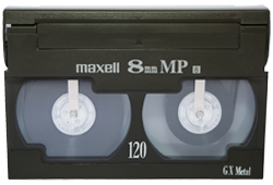 Video8 or 8mm to DVD