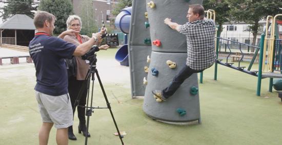 Team building video Shooting
