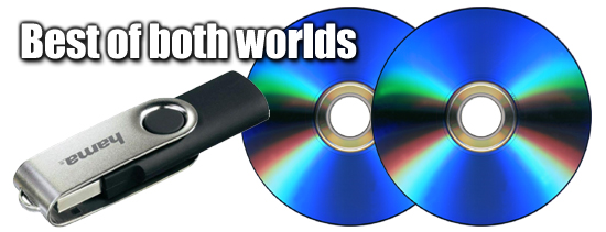 USB and DVD