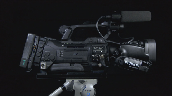 The GY-HM850 Shoulder-Mount Solution