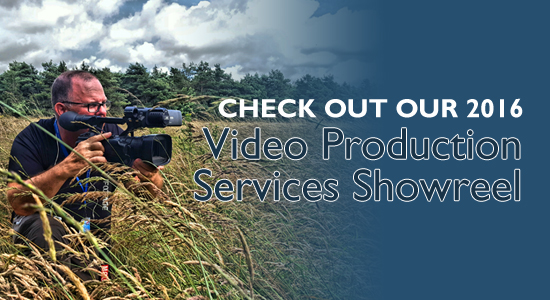 Video Production Services Showreel Title
