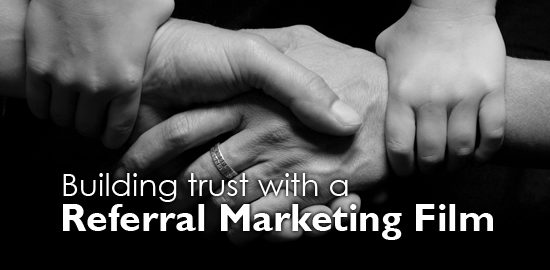 referral marketing film by Video Artisan