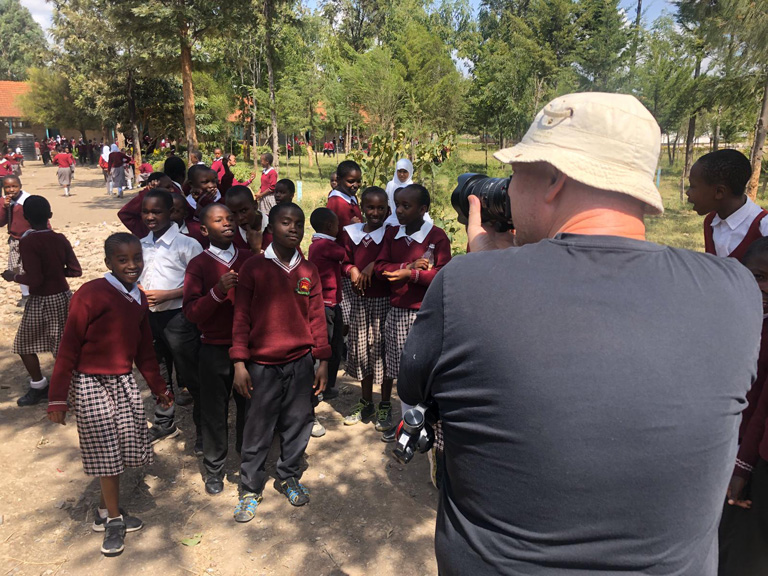 Local video production in Kenya